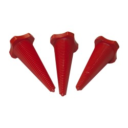 Leak Stoppers - Orange Plastic