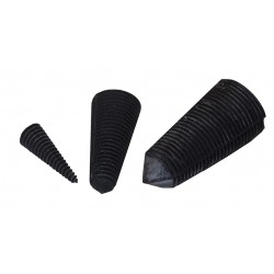 Leak Stoppers - Black Rubber