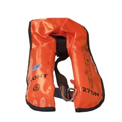 Lifejacket 275n Twin Chamber Auto and Manual Deck Harness